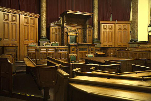 Victorian Courtroom