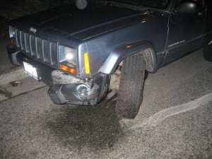 Messed up 99 Jeep Cherokee