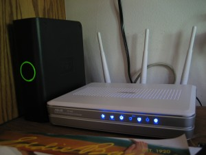 Asus RT-N16 Router and WD MyBook 500GB