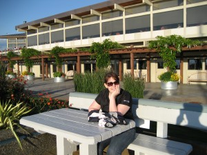 Kathy at Edmonds Waterfront